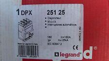 DISJONCTEUR DPX 3P  160A Icu=25kA LEGRAND 251 25   MCCB