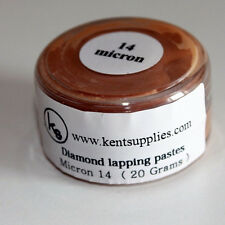 KENT Grit 14 microns Diamond Polishing Paste Lapping Compound in 20gr Container