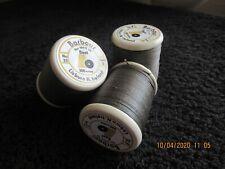 25/3 linen thread.  3x100 mtr spools of Barbour Threads Irish linen Thead.