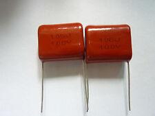 5PCS CL21 106J 100V 10UF P22 Metallized Film Capacitor