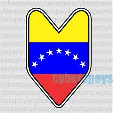 Venezuela Flag JDM Design Car Vinyl Sticker Decals