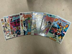 West Coast Avengers Annual  LOT COMPLETE RUN #1-7 VF/NM 9.4-9.6 Great Condition