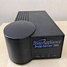 SNAP SERVER 1100 80GB NETWORK ATTACHED STORAGE - NO PSU