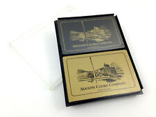 Vintage Playing Cards Adolph Coors Company Beer Brewery Hoyle 2 Decks