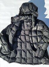The North Face 600 Down Hoody Coat Puffer Jacket Women's Black Medium Parka