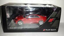 Spark 1:43 Audi RS 5 coupe Misano rood nieuw in Audi dealer display doosje