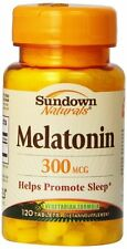 Sundown Melatonin 3mg Bonus Tablet 120 ct