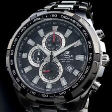 CASIO EDIFICE, EF539D-1A EF-539D-1A, CHRONOGRAPH, TACHYMETER, LARGE CASE, BLACK