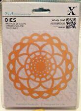 Xcut - Sunflower Doily Dies - On Magnetic Shim For Easy Storage