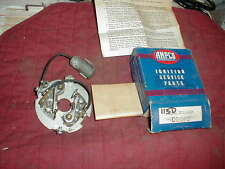 NOS 1933-54 DUAL POINT DISTRIBUTOR BREAKER PLATE 6 CYLS CHEVY NASH PACKARD GMC