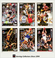 2007 AFL Herald Sun Trading Cards Top Marks 2006 Card Subset Full Set (10)