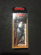 "Rapala Rattlin RNR-5 2"" 3/8 Oz CHB Chrome Blue (Made In Ireland)"