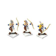 HIGH ELVES 3 archers bowmen metal warriors #1 Warhammer Fantasy Aelves METAL