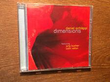 Daniel Schläppi - Dimensions [ CD Album] 2016 Jürg Bucher Colin Vallon