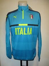 ITALY 1/4 ZIP TRAINING TOP BY PUMA ADULTS SIZE LARGE BRAND NEW WITH TAGS