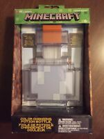 ThinkGeek Minecraft Color Changing Potion Bottle Lights Up and Switches NEW