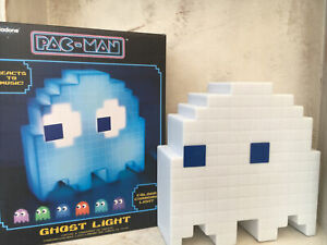 PALADONE PAC-MAN GHOST LIGHT COLOUR CHANGING Mood Light & USB CABLE BOXED