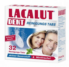 LACALUT DENT CLEANING TABLETS FOR DENTURES - 32 TABS