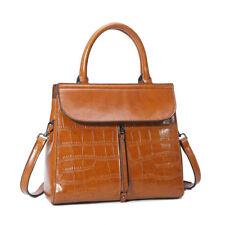 Herald Fashion Genuine Leather Handbag High Quality Cow Leather Women Bag Solid