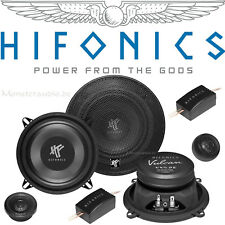 Hifonics VX5.2E 13cm 2-Wege Compo Auto Lautsprecher Set 130mm Boxen 160 Watt