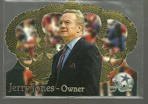 1995NFLPACIFICCROWN ROYALE #12 JERRY JONES ROOKIE CARD RC HOF