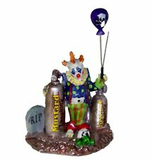 Lemax Spooky Town Halloween Decor Figurine Balloon Clown Scary Circus BNIP 32103