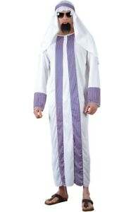Adult ARAB SHEIKH Middle Eastern Desert Fancy Dress Costume Male Mens Stag Party