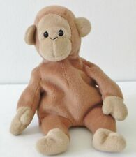 Ty 1995 Bongo Beanie Original Baby Collection Brown Plush Toy