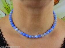 Echtschmuck-Halsketten mit Cabochon-Achat