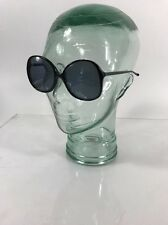 "NOS Vintage Ladies Sunglasses Eyeglasses Frame Riviera ""RINA"" Black 54-18"