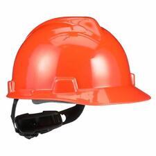 Msa 475361 V Gard Hard Hat Front Brim With Ratchet Suspension Standard Orange