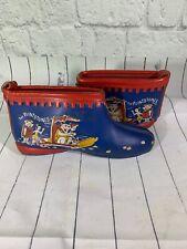 "Flintstones Kids Slippers Shoes 1962 ""True Vintage"" Cartoon Hanna Barbera"