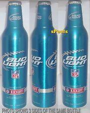2012 NFL KICKOFF BUD LIGHT ALUMINUM BEER BOTTLE-CAN PRO FOOTBALL TEAM SPORT BALL
