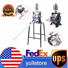 New Listingpneumatic Diaphragm Pump Aluminum Alloy Chemical Industry Electric Ink Usa New