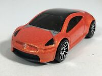Hot Wheels 2005 Mitsubishi Eclipse Concept Car Orange HW First Editions Malaysia