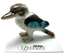More details for little critterz miniature porcelain animal figure kookaburra