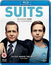 Suits Complete Series 1 Blu Ray Suites First Season Original UK Release R2
