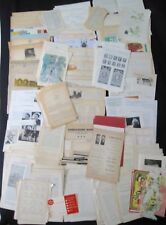 REDUCED 400 Vintage 1890s-1990s Book/Magazine Pages-Collage-Mixed Media-ART
