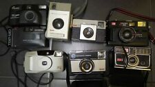 Job Lot of Old Cameras Kodak.. Canon.. Olympus Etc..