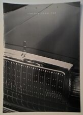 LINCOLN TOWN CAR orig 1993 USA Mkt Large Format Sales Brochure - Cartier Exec