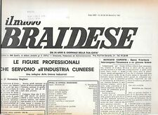 NUOVO BRAIDESE BRA CHERASCO ALBA PALLAVOLO MOSCHELLA N 23 1987 NOVEMBRE
