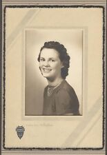 Vintage Photo Pretty Girl School Portrait Jukes Bellingham Washington 259366