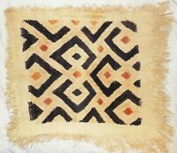 African Kuba cloth Velvet bakuba raffia Africa kv351