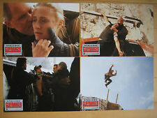 4 Aushangfotos -  Cliffhanger  (1993)  Sylvester Stallone, Renny Harlin