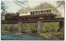 South Devon Railway; Devon Belle & Loco 1420, Nursery Pool Bridge PPC, Unposted