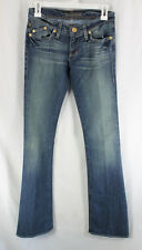 Rock Republic Jeans Denim Womens Size 25 Flare Low Rise Sample 2008