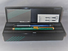 Pelikan Vintage P381 Green Laque gold tim fountain pen--l4k broad nib