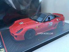 BBR Model 1/43 Ferrari 599XX Ginevra 2009 Red Met. Art. BBRC10