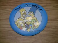 The Simpsons Family Memorabilia picture shirt pin picture Matt Groening