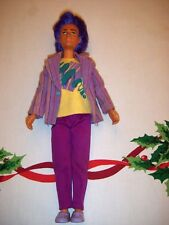 Jem and the Holograms Doll Rio Hasbro Vintage 1980s